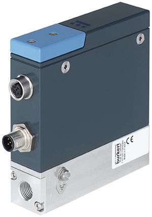 High accuracy mass flow controller for gas adds analogue comms