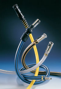 Equipped hoses improve operator safety