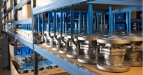 Fast procurement for high quality process control valves