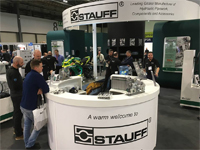 Stauff demonstrates innovations in hydraulic components and accessories at Fluid Power & Systems 2018